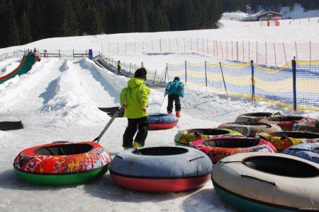 Andalo: sulla neve con i bambini