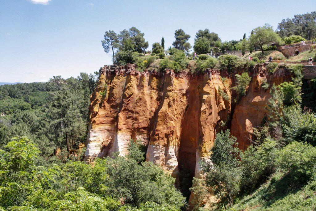 cave di ocra a Roussillon