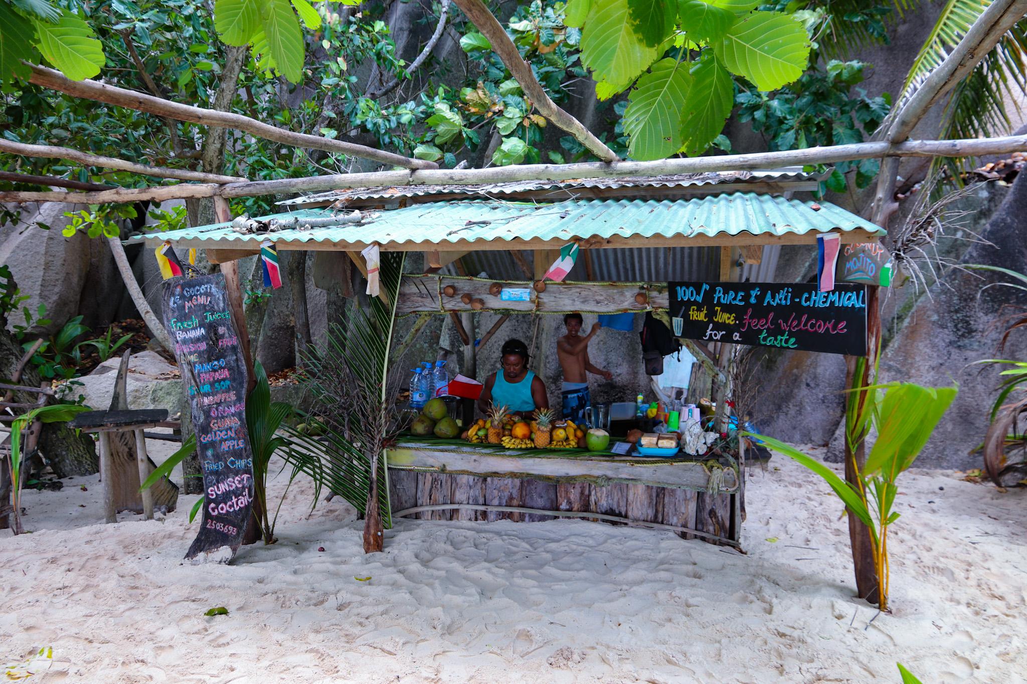 Spiaggia Anse Source d'Argent