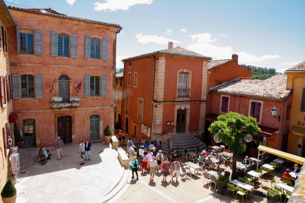 Piazzetta a Roussillon