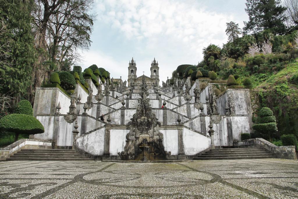 Scalinata del santuario di Bom Jesus do Monte