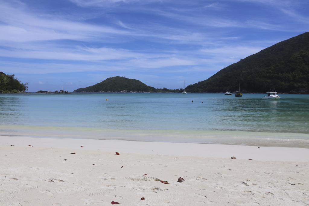 Seychelles spiaggia Port Glaud